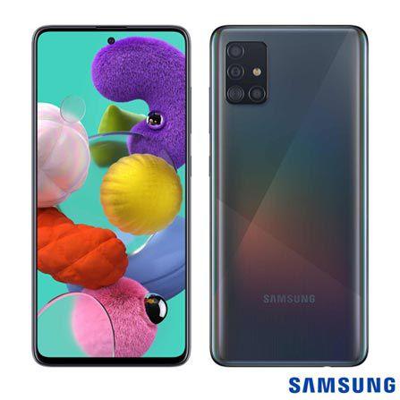 Celular Samsung Galaxy A51 Sm-A515F| Dst Oc| 128Gb| 4Gbram| 48Mp| 6.4| Preto