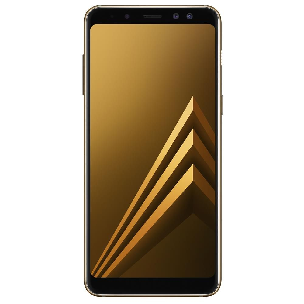 Celular Samsung Galaxy A8 2018 Oc64Bit/64Gb/4Gbram/5,6/4G/16Mp/Dourado