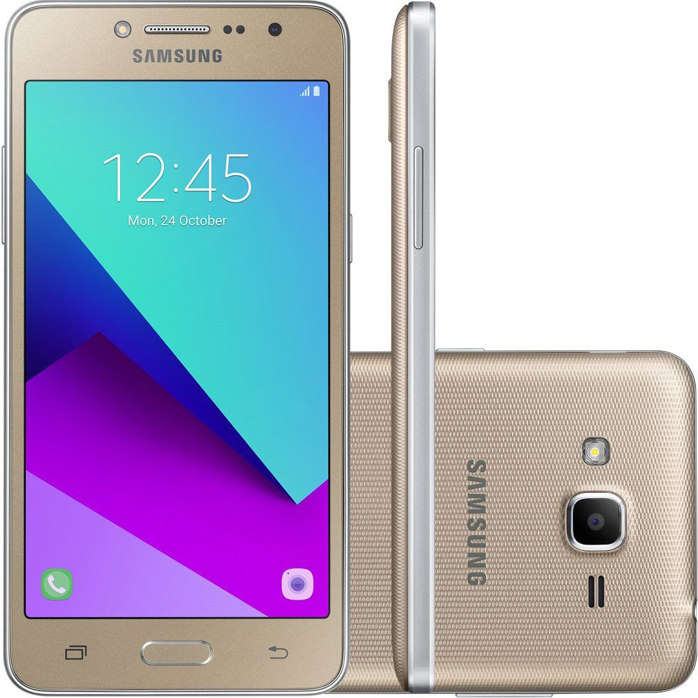 Celular Samsung Galaxy J2 Prime Sm-G532Mt Qc1.Ghz| 16Gb| Tv| 4G| 8Mp| Dourado
