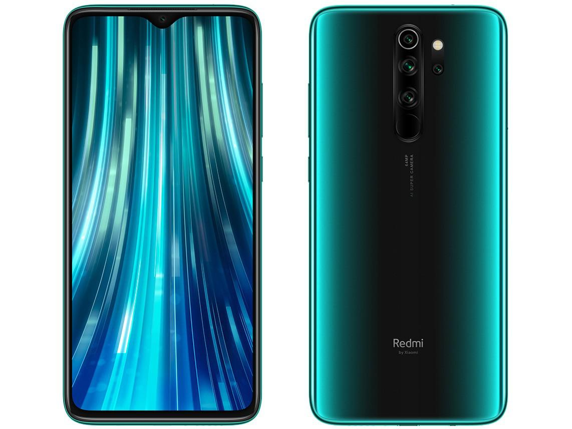 Celular Xiaomi Redmi Note 8 Pro Cortex Oc| 128Gb| 6Gb| 6.53| 64Mp| Forest Green