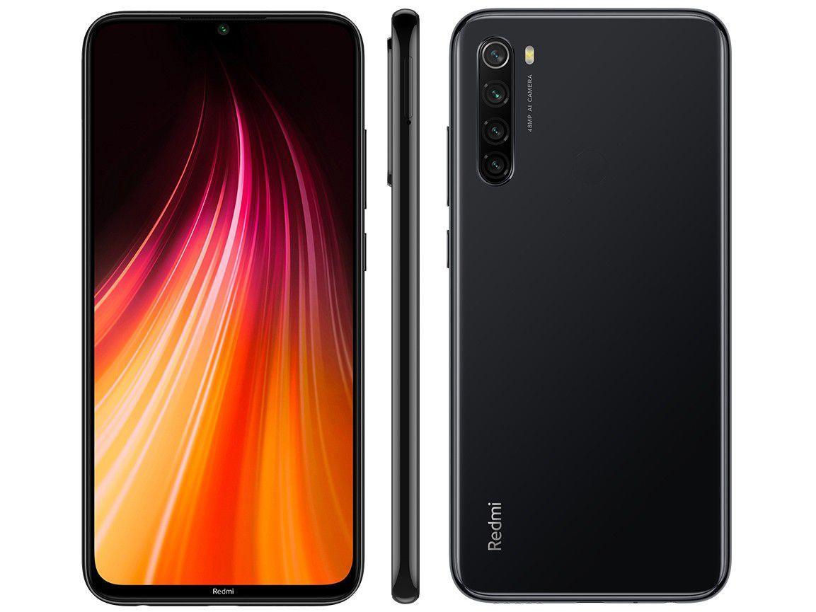 Celular Xiaomi Redmi Note 8 Snap.D. 665 Oc| 64Gb| 4Gb| 6.3| 48Mp| Space Black
