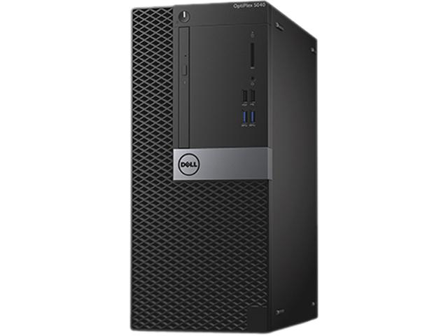 Cpu Dell 5040 I3-6100 3.0Ghz | Ram 4Gb | Hd500 | Drive Dvd-R | Windows 10 Pro