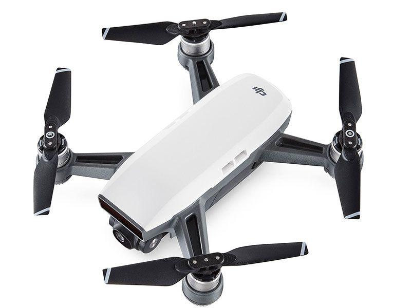 Drone Dji Spark White alpine + Rádio controle