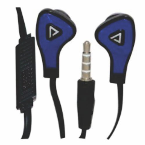 Fone De Ouvido Com Microfone Bt-F002 Branco E Azul