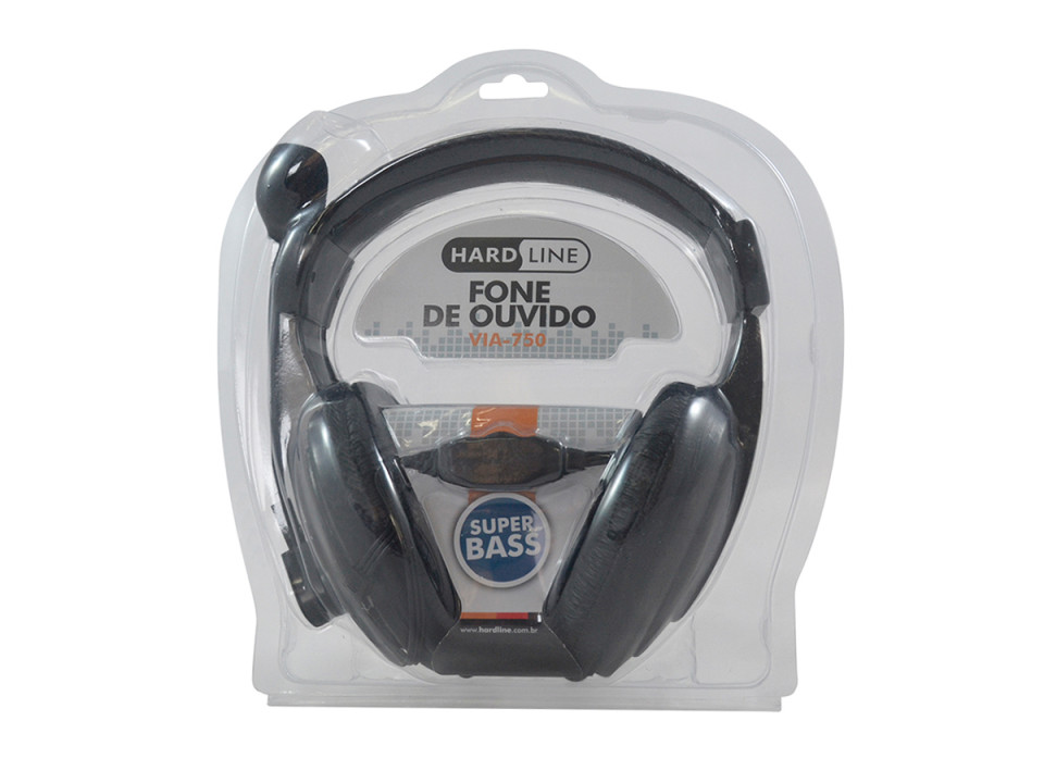 Fone De Ouvido Com Microfone Via-750 Hardline