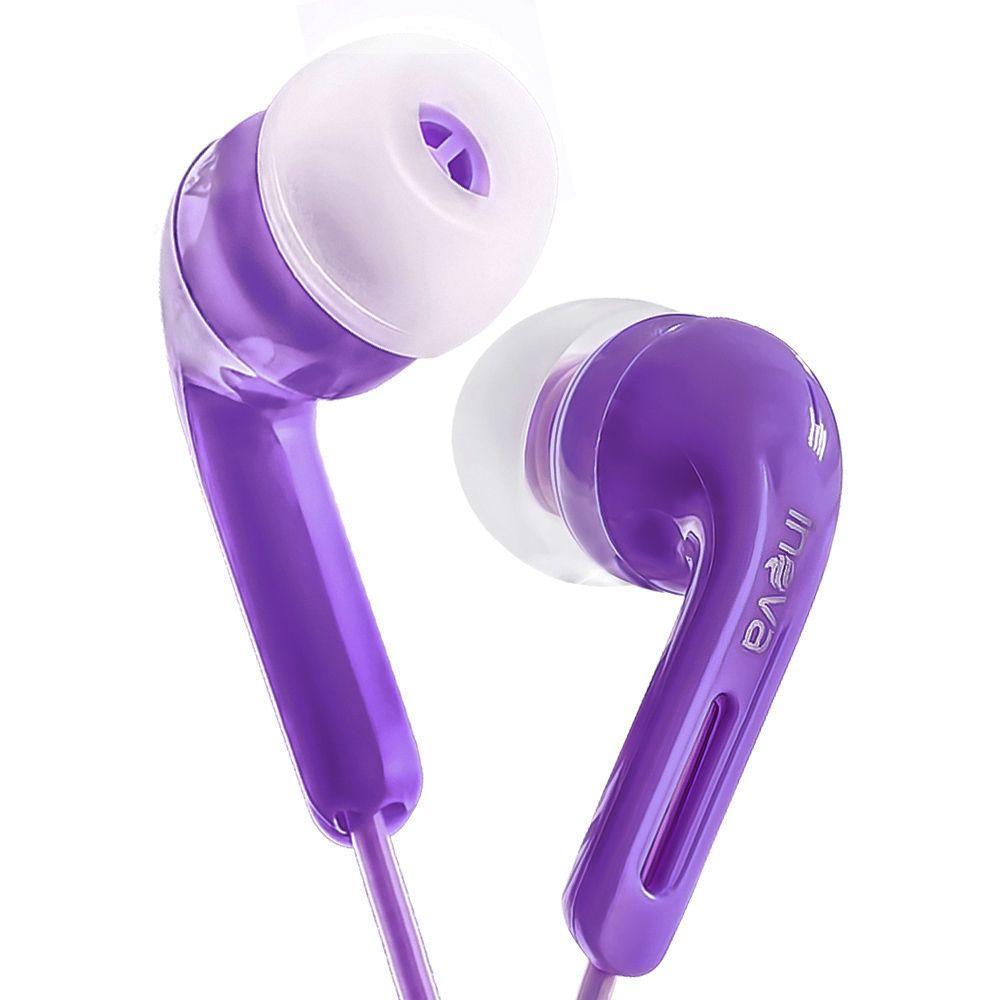 Fone De Ouvido Intra-Auricular Para Celular Inova Roxo