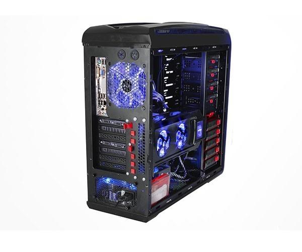 Gabinete Gamer Sentey Gs-6400 Entusiasta Arvina Preto