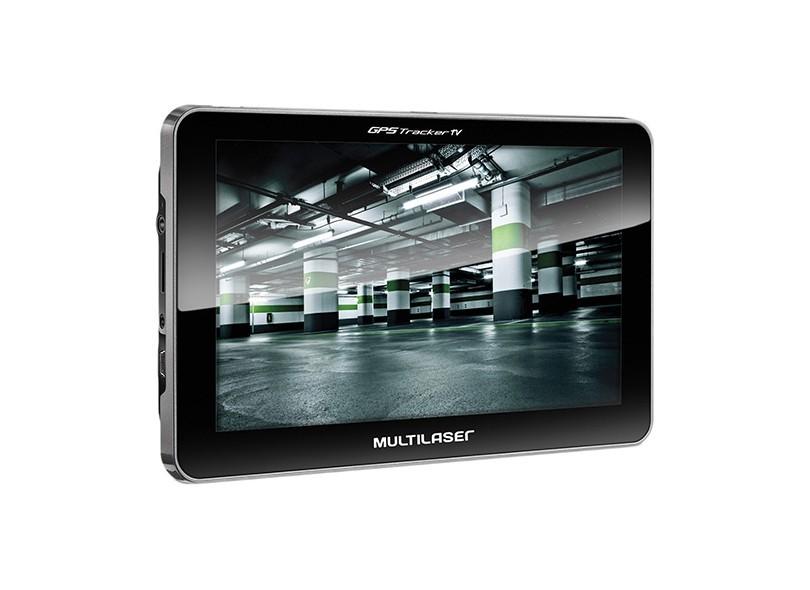Gps Tracker Iii Multilaser 7|Av In|Tv|Fm Gp039