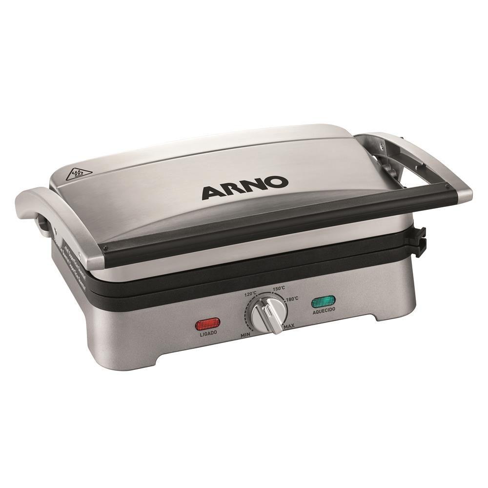 Grill Arno Destacavel Gpre Inox 110V