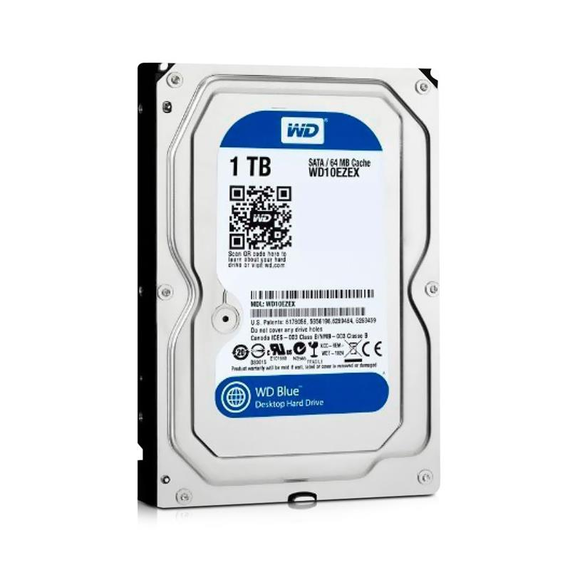 Hd 1Tb Sata 3 Western Digital 7200Rpm 64Mb Blue