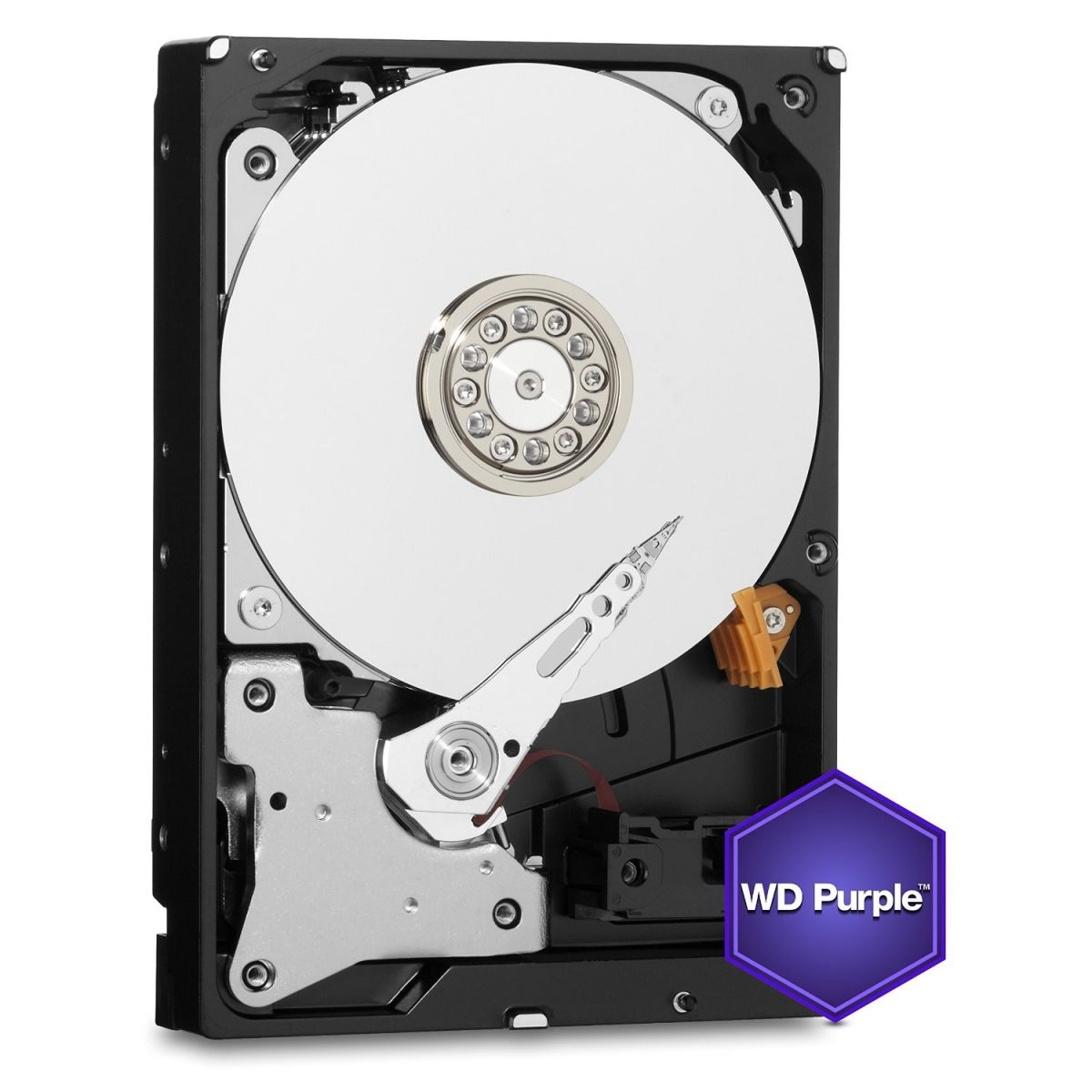 Hd 3Tb Wd Purple Wd30Purx Sata De 6 Gb| S