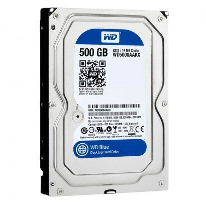 Hd 500Gb Sata 2 Western Digital 7200Rpm