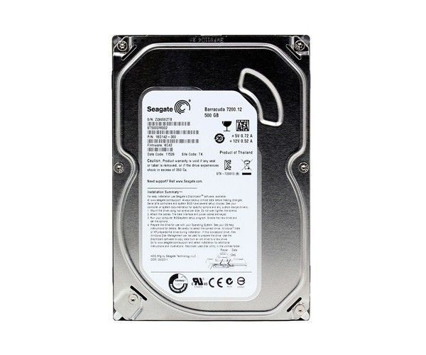 Hd 500Gb Sata Iii Seagate 7200Rpm 16Mb St500Dm002