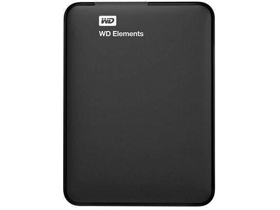 Hd Externo 1Tb Western Digital Elements Usb3.0 Preto - Wdbuzg0010Bbk