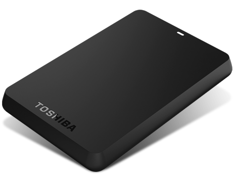 HD EXTERNO 750GB TOSHIBA CANVIO BASICS PORTATIL USB 3.0 PRETO