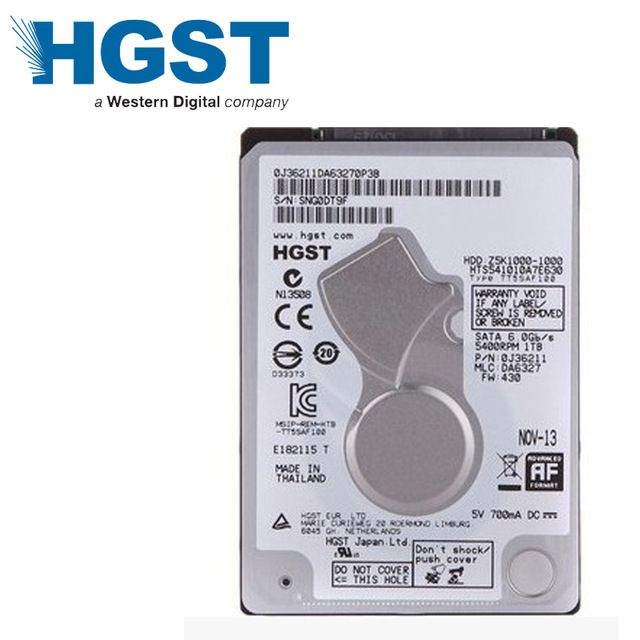 Hd Notebook 1Tb Sata 3 Z5K1000-1000 Hgst