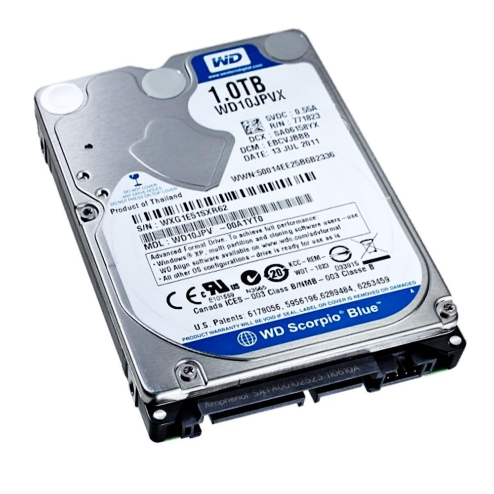 Hd Notebook 1Tb Sata 5400Rpm Seagate