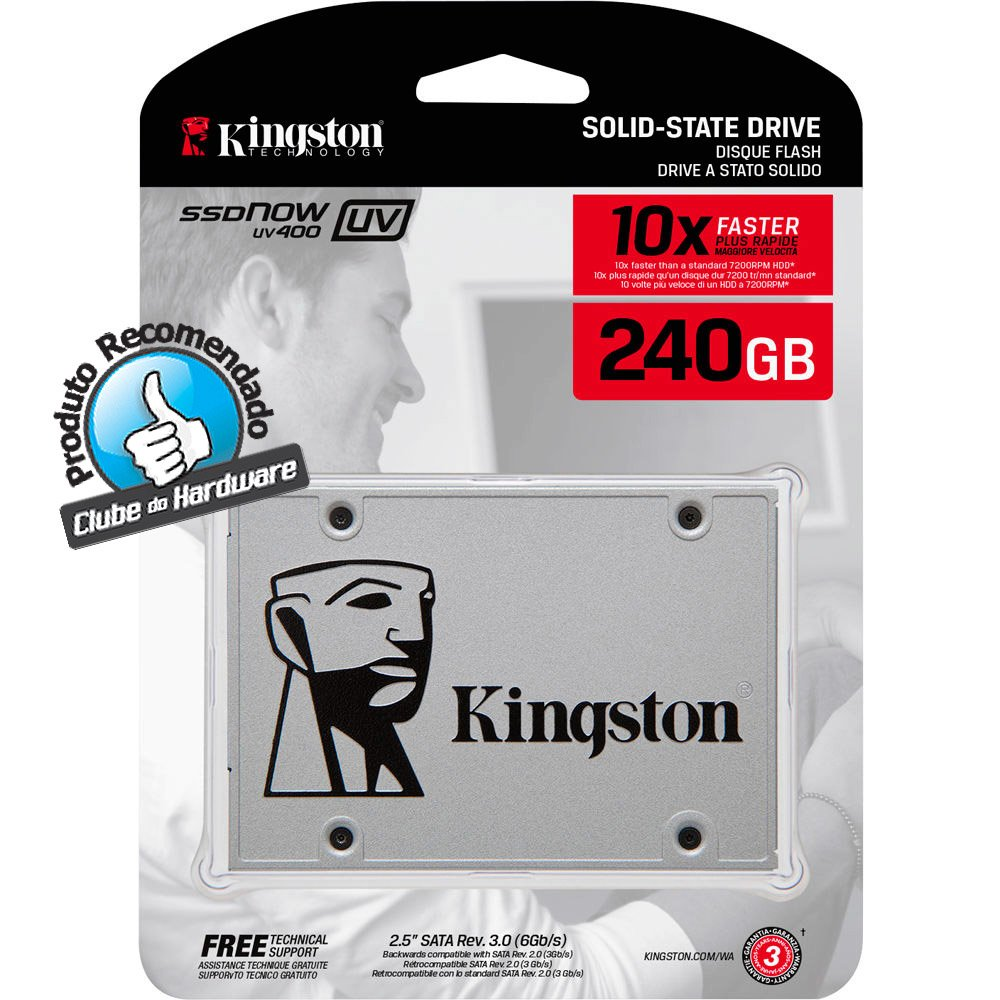 Hd Ssd 240Gb Kingston Sa400S37| 240G