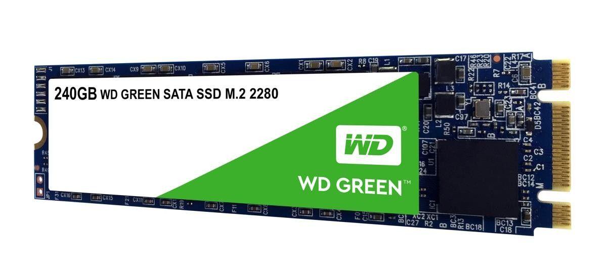 Hd Ssd M.2 2280 240Gb Wd Green Wds240G2G0B