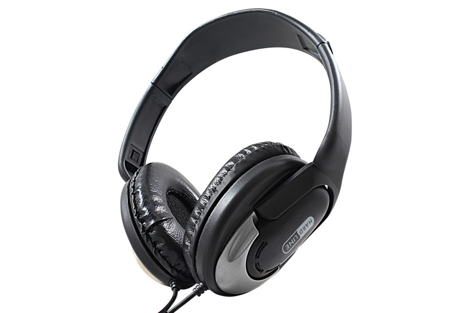 Headphone Hp350 Silver Hardline