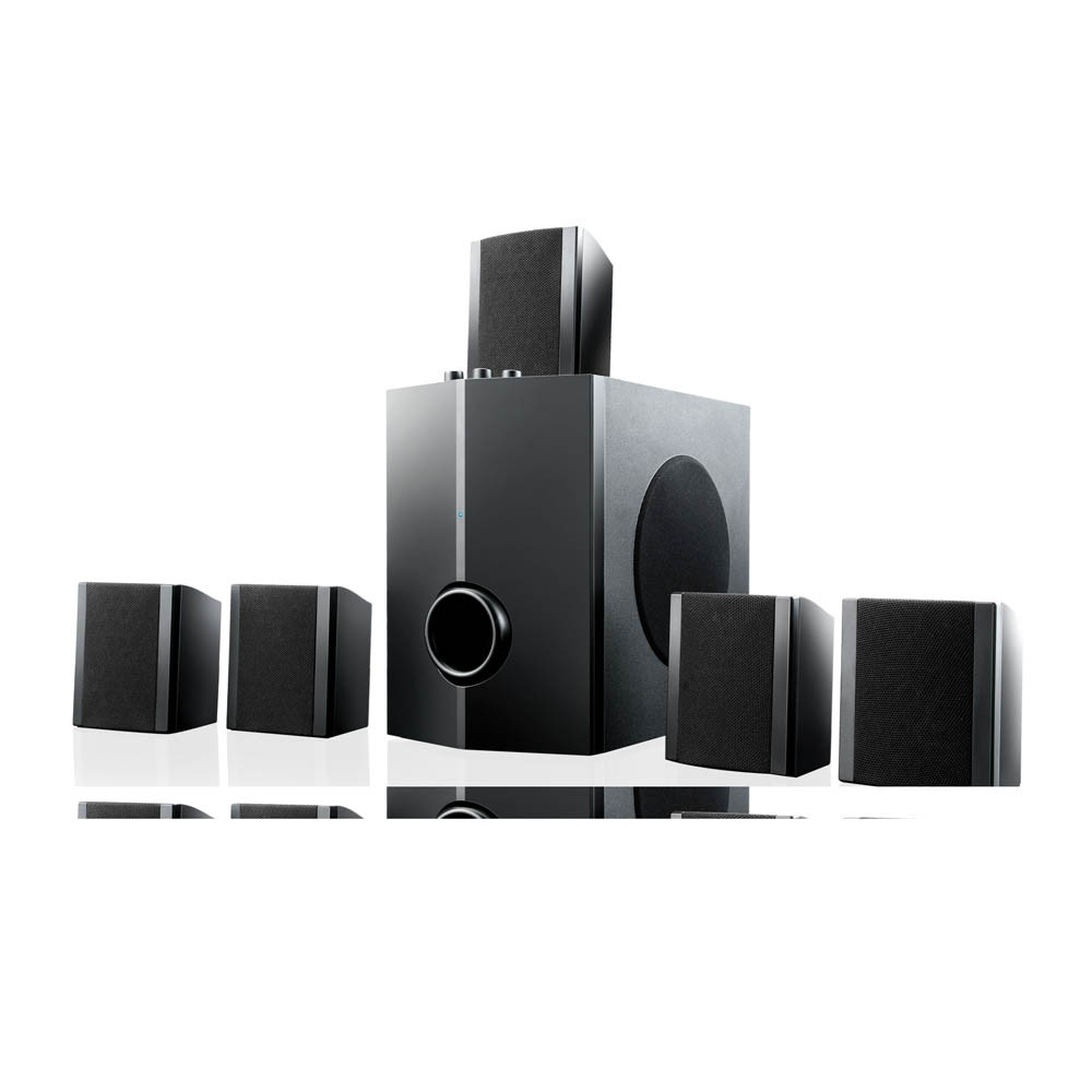 Home Theater Multilaser 5.1 40W Rms Sp087 Bivolt Preto
