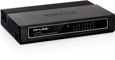 Hub 16 Portas 10| 100 - Switch Tp-Link Tl-Sf1016D