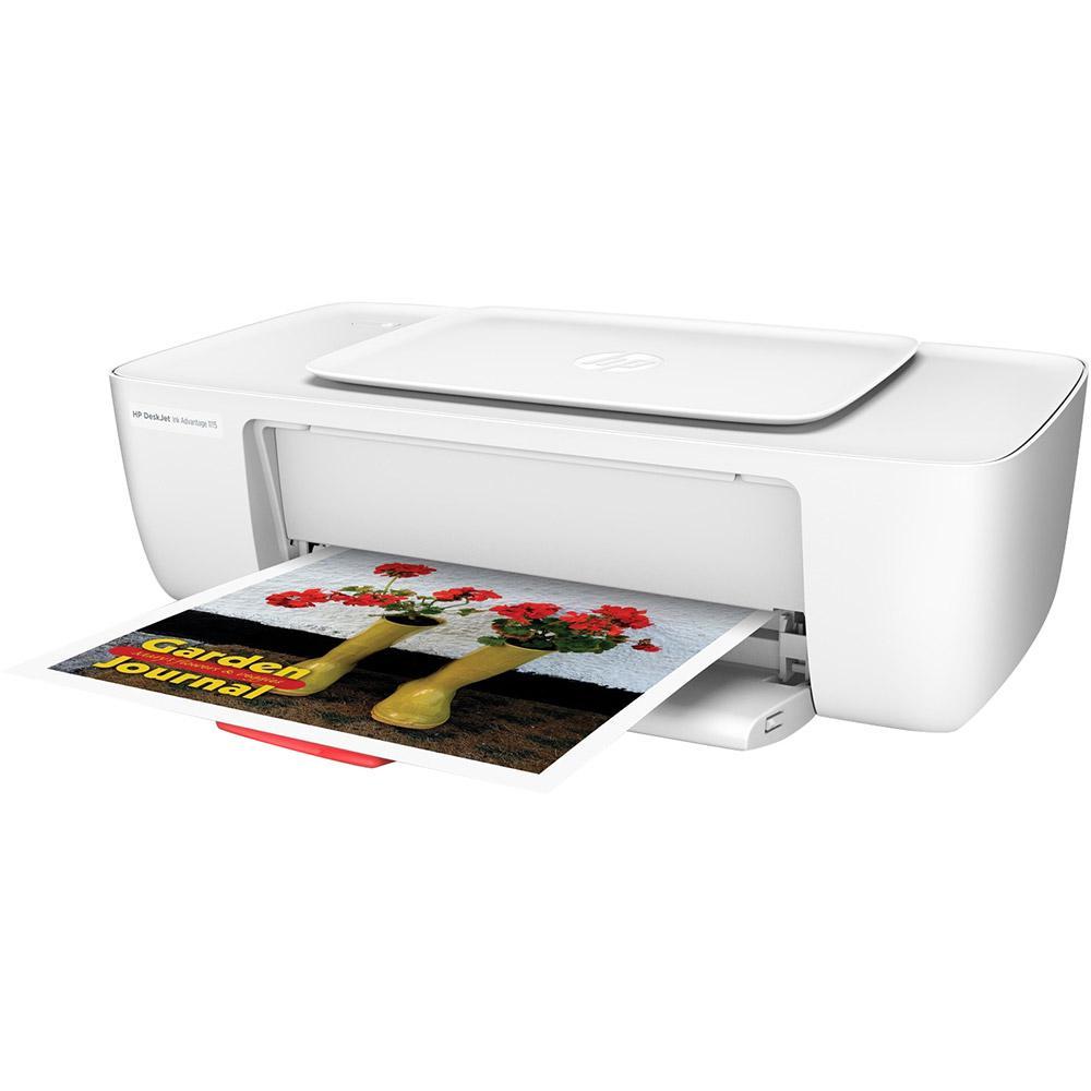 Impressora Hp Deskjet Ink 1115 Advantage Branca