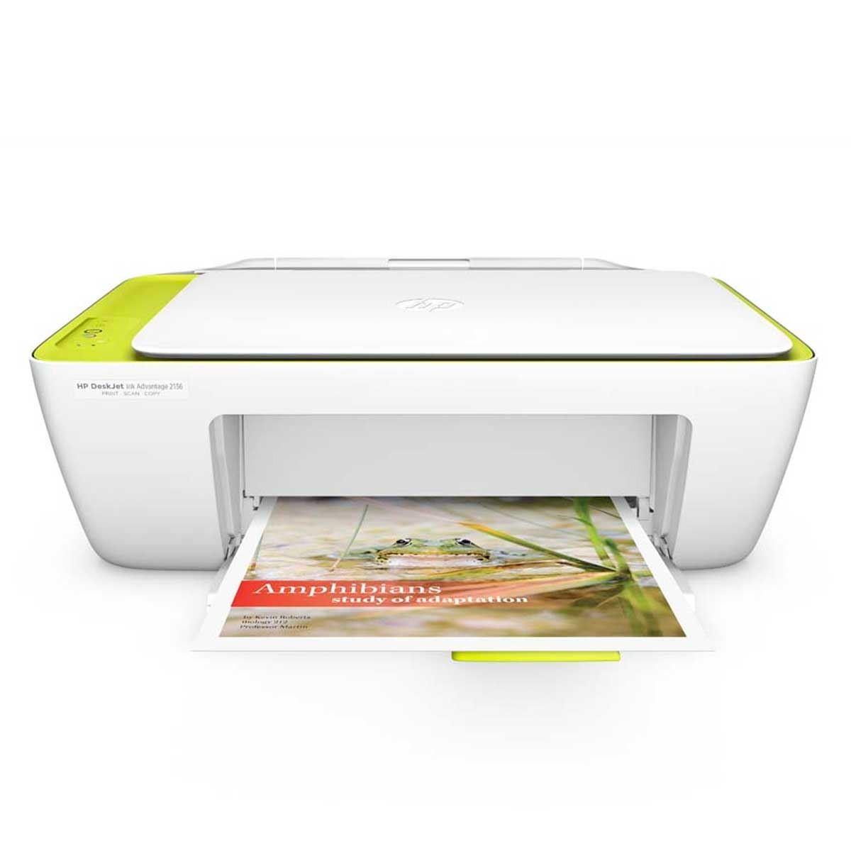 Impressora Multifuncional Hp 2136 Jato De Tinta