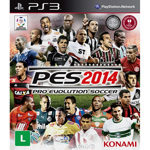 Jogo Ps3 Pro Evolution Soccer 2014
