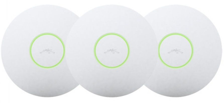 Kit 3 Access Point Ubiquiti Unifi 6545A-Uap-Lr Long Range 300Mbps