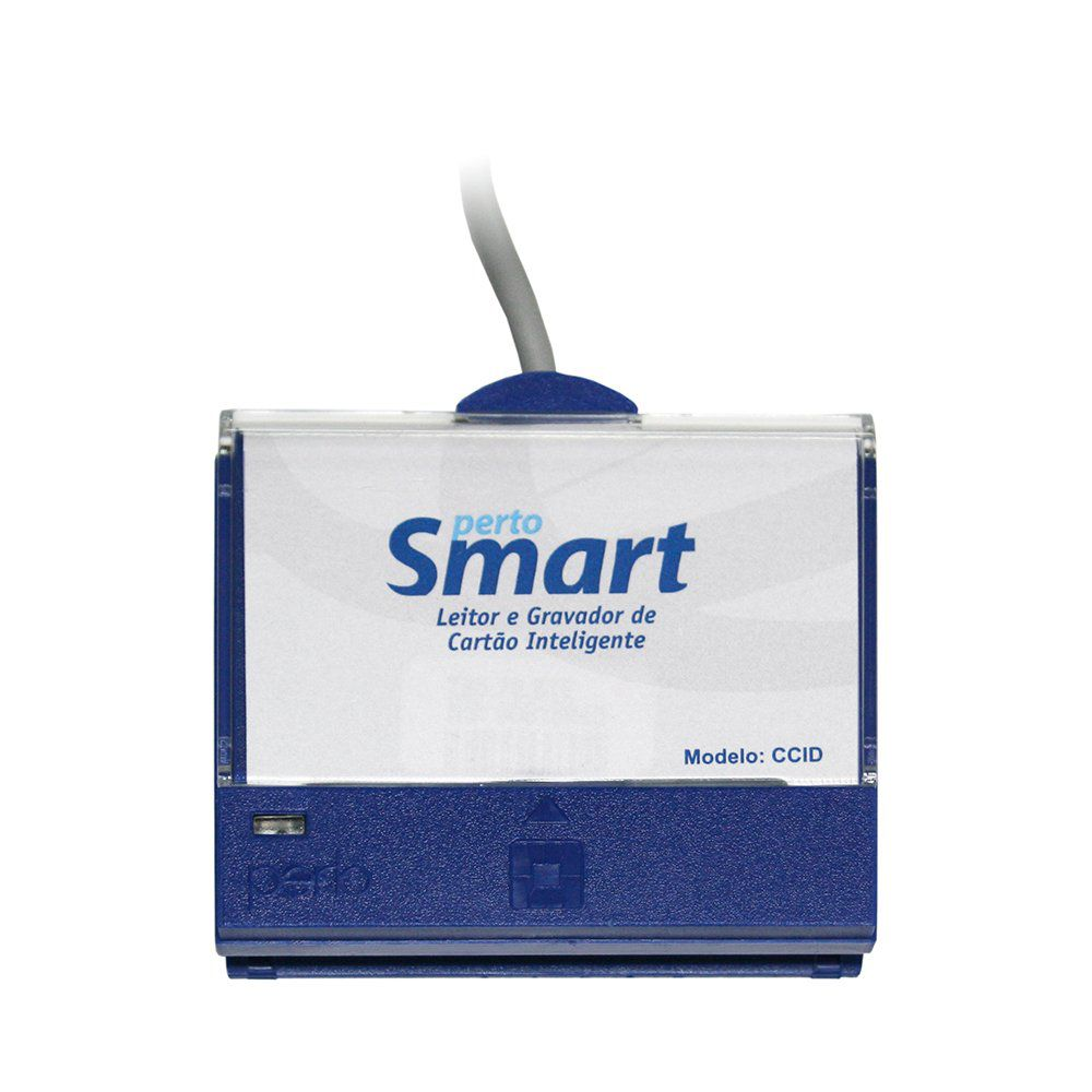 Leitor De Certificado Digital Pertosmart Ps-1000 Usb