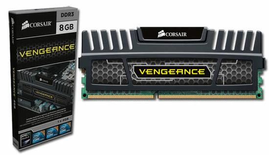 MEMORIA 8GB DDR3 1600 VENGEANCE CORSAIR