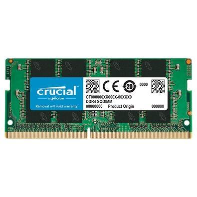 Memoria Notebook 8Gb Ddr4 2666Mhz Crucial