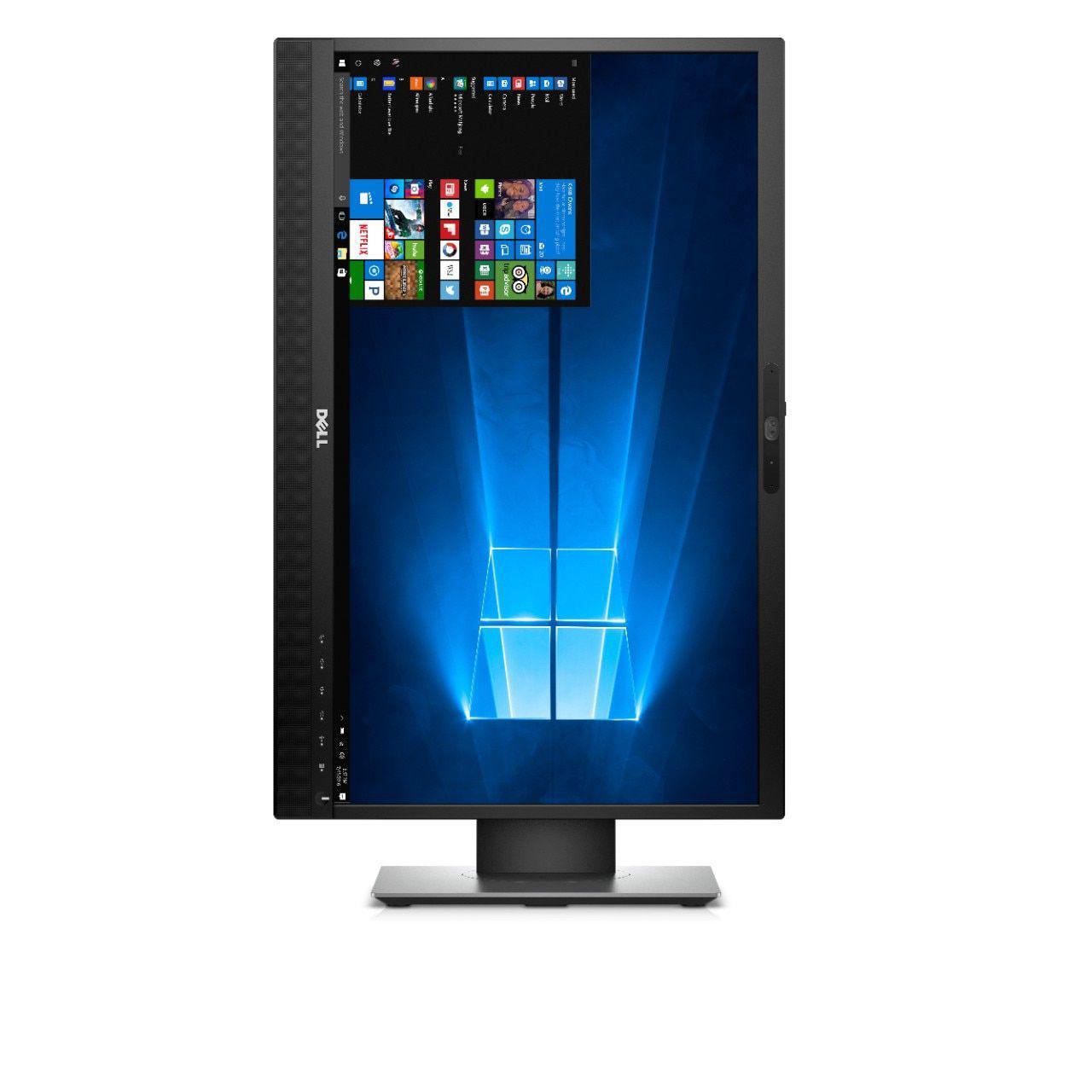 """Monitor Dell 24"""" P2418Hzm -  Hdmi/Dp/Vga/Usb/P2/Microfone/Web Cam"""