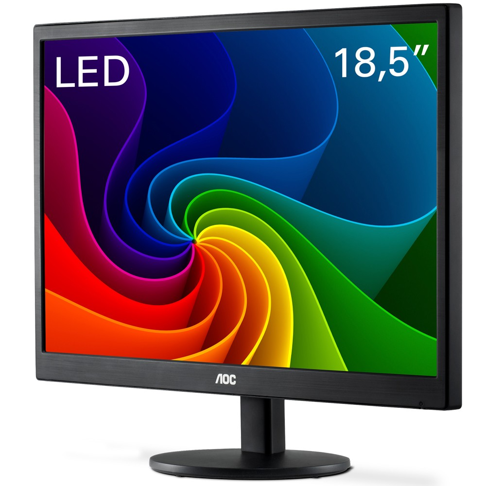 "Monitor Led 18.5"" Aoc E970Swnl Vga"