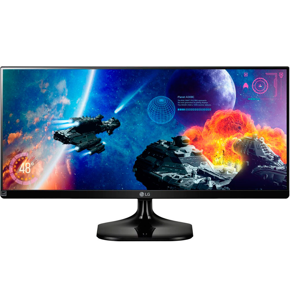 Monitor Led 25 Lg Preto 25Um57 Ips Ultra Wide