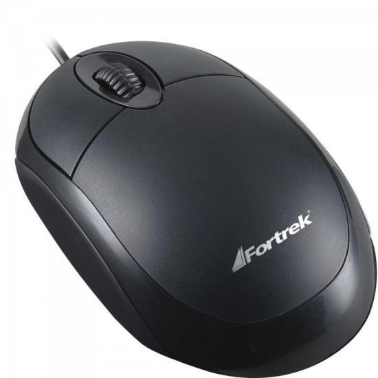 Mouse Usb Fortrek Oml101 800Dpi Preto