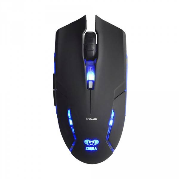 Mouse Usb Gamer E-Blue Cobra Ii  Led Azul 400| 800| 1600 Dpi - Ems151Bk