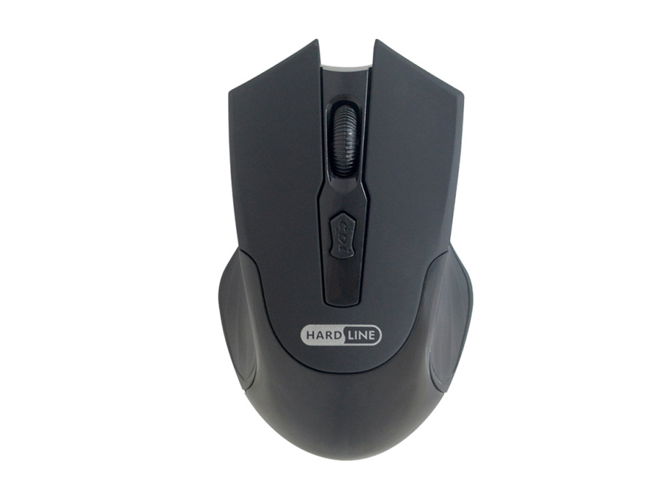 Mouse Usb Wireless 1600Dpi Ms44Rf Preto Hardline