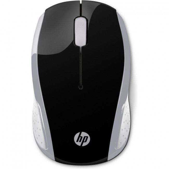 Mouse Wireless Hp 200 Usb 2Hu84Aa Cinza