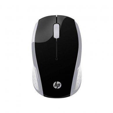 Mouse Wireless Hp 200 Usb 2Hu84Aa Cinza