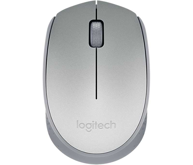 Mouse Wireless Logitech M170 Prata