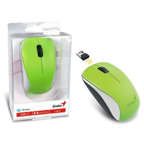 Mouse Wireless Nx-7000 Blueeye Verde 2,4 Ghz Genius