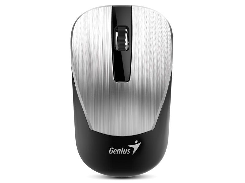 Mouse Wireless Nx-7015 Blueeye Prata Genius
