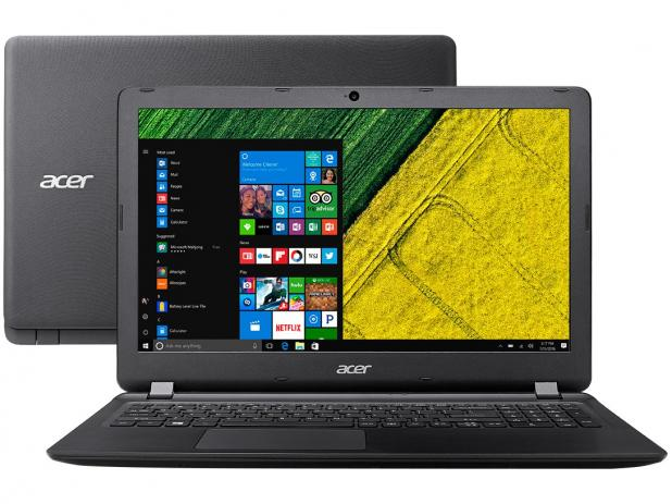 Notebook Acer I3 6006U| 1Tb| 4Gb| 15,6| Win10Home| Preto - Es1-572-3562