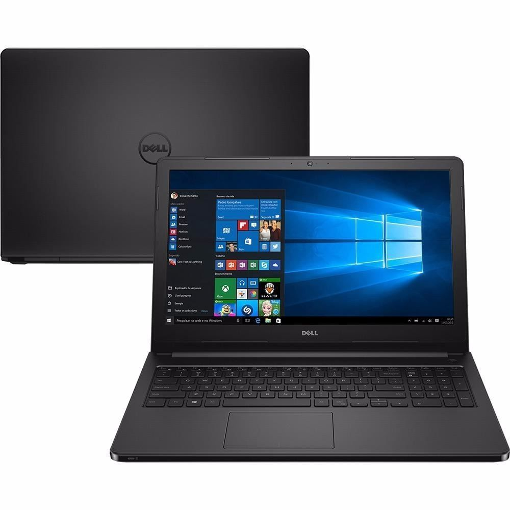 Notebook Dell Inspiron 3542 I3-4005U 1.7Ghz| 1Tb| 4Gb| Dvd| 15| W10Home| Preto