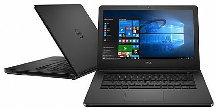 Nb Dell Inspiron 3584 I3-7020U| 1Tb| 4Gb| 15| W10Home| Preto