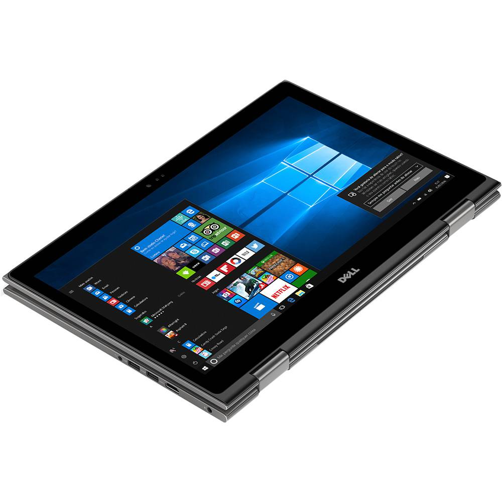 Notebook Dell Inspiron 5578 2-1 I7-7500/1Tb/8Gb/15/Touch/W10Pro/Preto