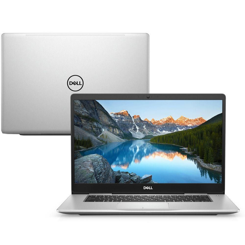 Nb Dell Inspiron 7580 I7-8565U| 1Tb| Ssd128Gb| 16Gb| Mx150(2Gb)| 15| Win10Pro| Prata