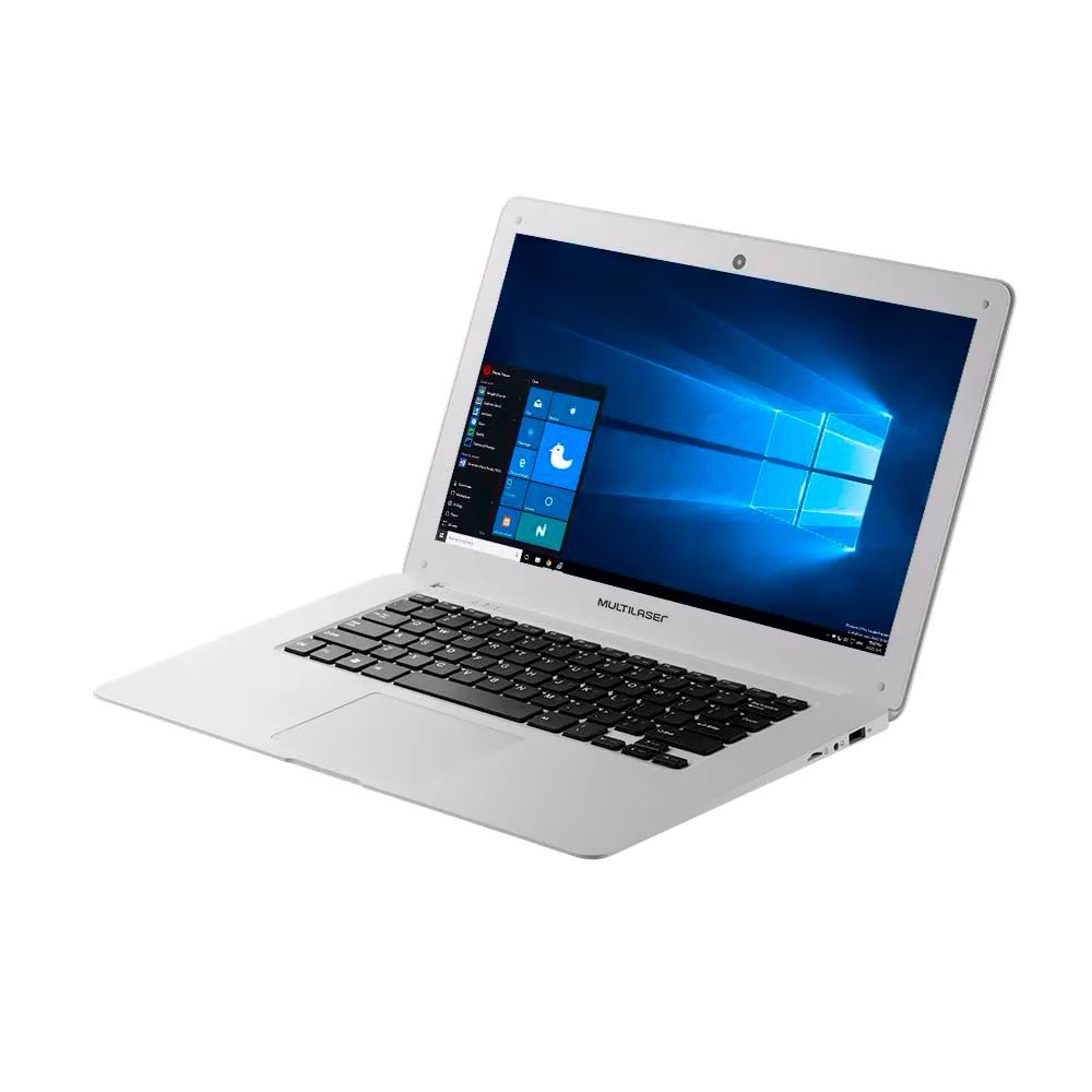 Nb Multilaser Legacy Pc110 Atom Z8350| 2Gb| 64Gb| 14| W10| Branco